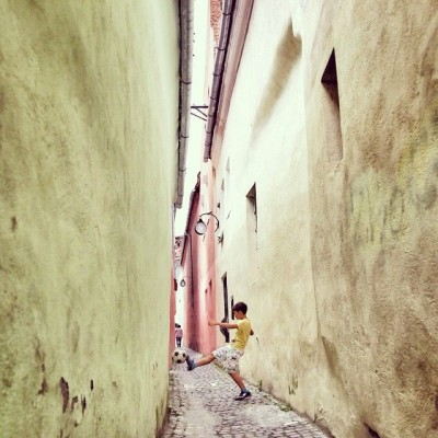 YR14/15 playtime by amorozovas StradaSforii is the narrowest street in Europe