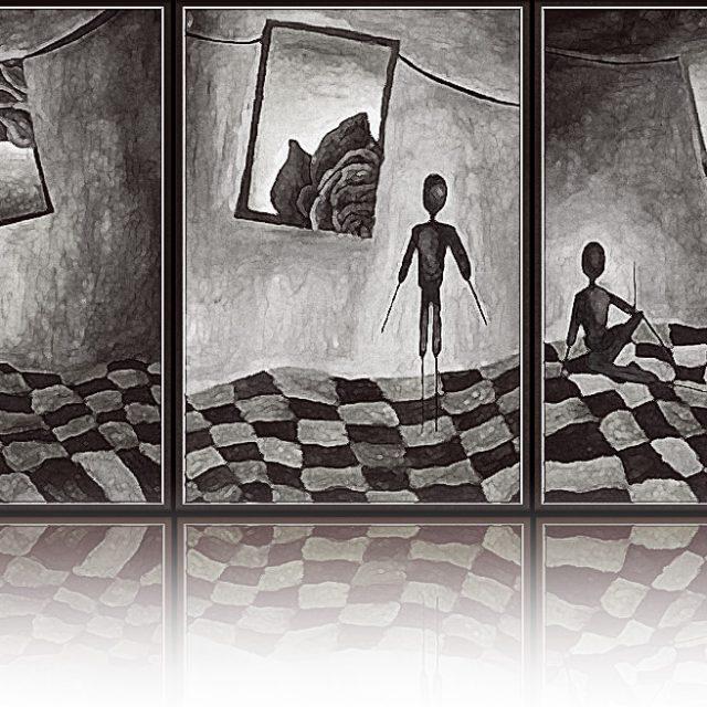 Brushvox : The Artist as a Young Man on Strada Sforii retrospective
