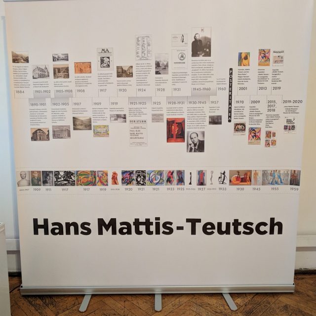 2 Romanian artists 2 visual approaches to modernism and past social upheaval: Hans Mathis-Teutch
